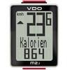 VDO M2.1 WR Licznik rowerowy biały/czarny